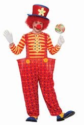Клоуны - Костюм озорного клоуна детский