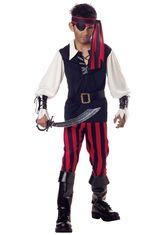 Пираты и разбойники - Костюм пирата бунтаря детский