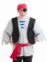Пираты и разбойники - Костюм пирата для взрослых