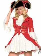 Пиратки - Костюм пиратского капитана