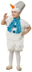 Снеговики - Костюм плюшевого снеговика