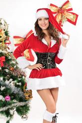 Праздники - Костюм помощницы Деда Мороза