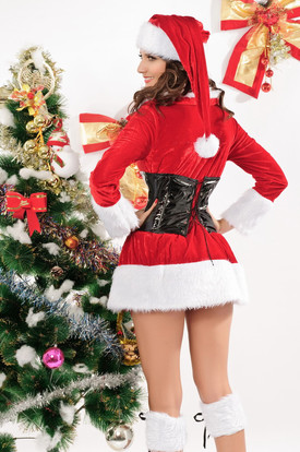 Костюм помощницы Деда Мороза
