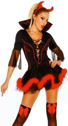 Женские костюмы - Костюм Потрясающей дьяволицы