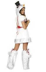 Снеговики - Костюм праздничного снеговика