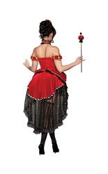 Красная королева - Костюм прекрасной королевы сердец