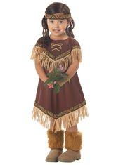 Костюмы для девочек - Костюм принцессы индейцев детский