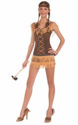 Ковбои и Индейцы - Костюм Принцессы индейцев в платье
