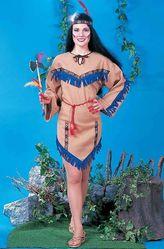 Национальные - Костюм принцессы индейцев