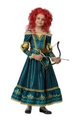 Принцессы и принцы - Костюм принцессы Мериды
