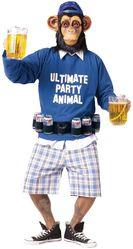 Обезьянки - Костюм пьющего шимпанзе