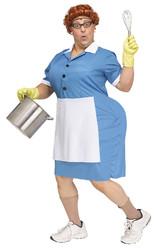 Официантки и Повара - Костюм Работницы закусочной