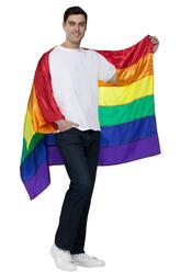Национальные - Костюм Большой радужный флаг