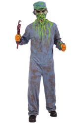 Страшные костюмы - Страшный сантехник-зомби