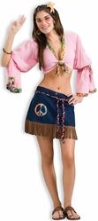 Ретро-костюмы 70-х годов - Костюм секси хиппи-девушки