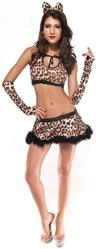 Леопарды и тигры - Костюм секси леопардши