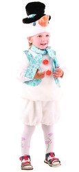 Снеговики - Костюм снеговичка детский