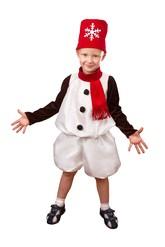 Снеговики - Костюм Снеговичка для детей