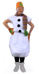 Снеговики - Костюм Снеговика с оранжевым ведром