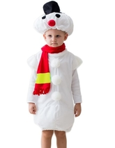 Снеговики - Костюм Снеговика с шарфом