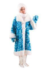 Новогодние костюмы - Костюм Снегурочки детский