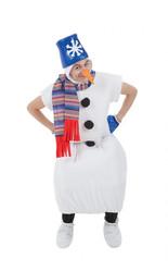 Снеговики - Костюм Снежного Снеговика