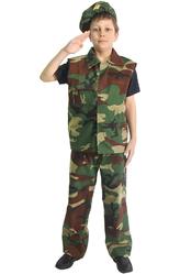 Военные и летчики - Костюм Юный солдат