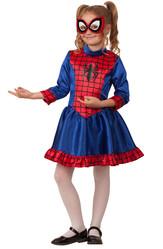 Супергерои и спасатели - Костюм Спайдергерл для девочки