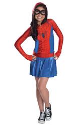 Супергерои и спасатели - Костюм Спайдергерл в платье
