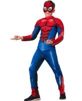 Человек-паук - Костюм Спайдермена с мышцами детский