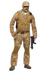 Военные и спецназ - Костюм Боевой спецназовец
