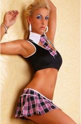 Женские костюмы - Костюм спортивной школьницы
