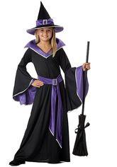 Страшные - Костюм стильной ведьмочки детский