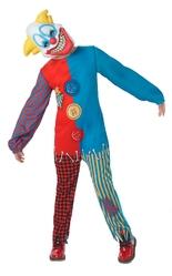 Клоуны - Костюм страшного клоуна детский