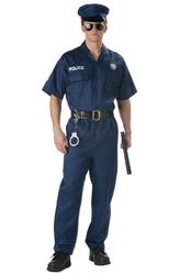 Мужские костюмы - Серьезный полицейский