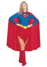 Супермен - Костюм супер девушки люкс