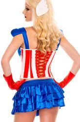 Капитан Америка - Костюм Супергерл Капитан Америка