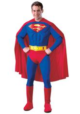 Супермен - Костюм супермена Deluxe