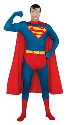 Супермен - Костюм супермена вторая кожа