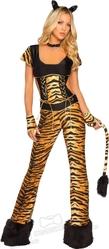 Леопарды и тигры - Костюм Тигрицы в комбинезоне