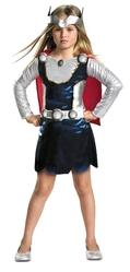 Супергерои и спасатели - Костюм Тора для девочки