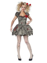 Колдуны и колдуньи - Костюм тряпичной куклы Вуду