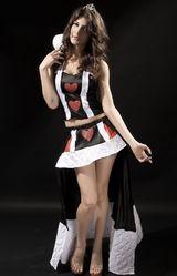 Сказочные персонажи - Костюм царицы сердец VIP