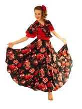 Цыганские костюмы - Костюм цыганки в красном