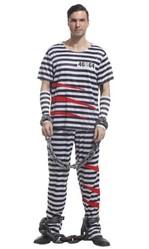 Бандиты и преступницы - Костюм тюремного заключенного