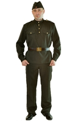 Военные и спецназ - Костюм военного мужской