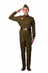 Военные и спецназ - Костюм военного взрослый