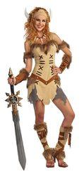 Исторические - Костюм воинственной принцессы викингов