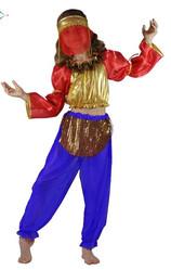 Арабские и восточные - Костюм восточной танцовщицы детский