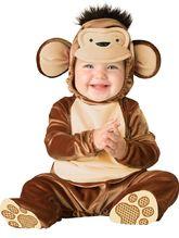 Костюмы для малышей - Костюм забавной обезьянки детский